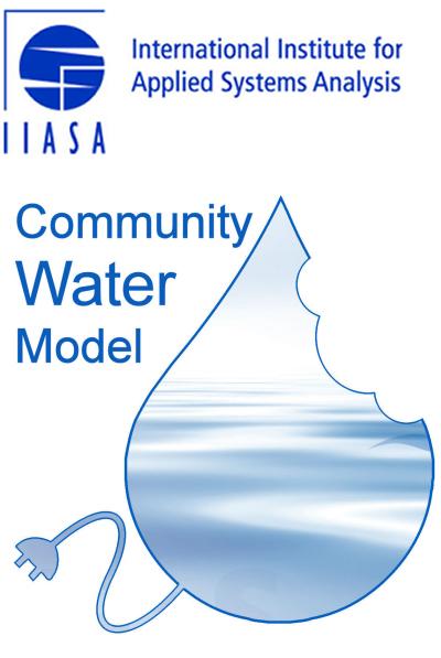 4  Setup of the model — Community Water Model